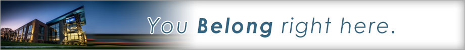 Belong to a credit union banner
