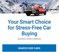 Your smart choice for stress-free car buying. Search. Shop. Finance. Search our cars. Click here.