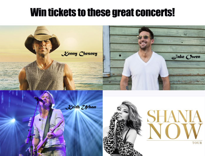 18 Great Concert Giveaway