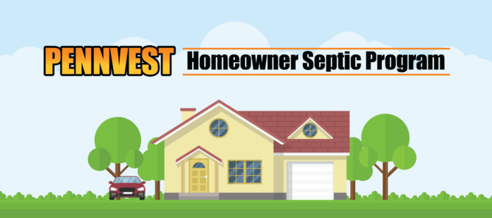 PENNVEST Septic Loan Program Website Header