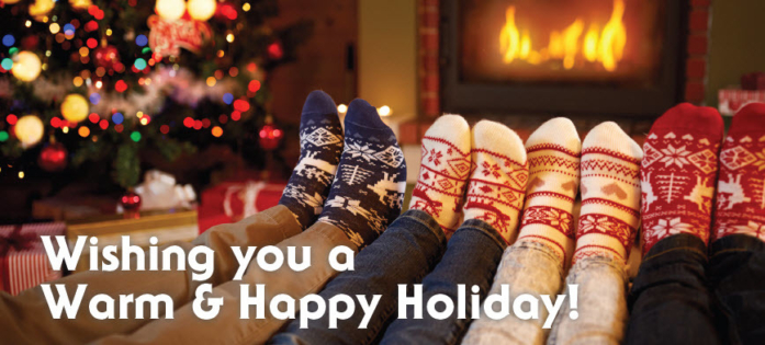 Warm Holiday 2017 Message Image