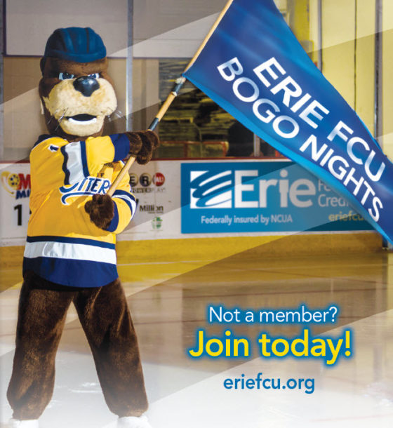 17 Erie Otters Bogo Nights Banner
