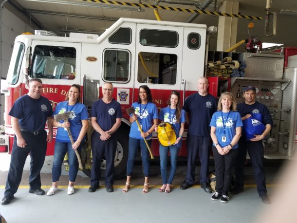 Team AOK Visits South Central Fire Station