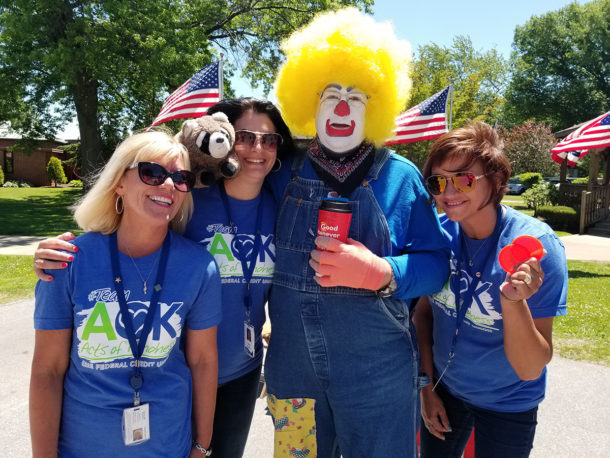 Team AOK At Soldiers-Sailors Carnival Day