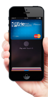 ApplePay Phone in Hand Image