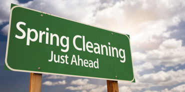 Spring Cleaning sign for story image