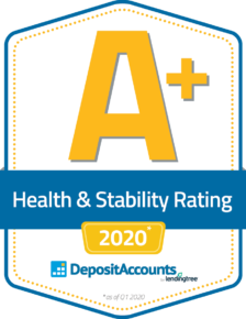 Aplus Health Grade Badge 2020