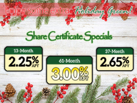Holiday Share Cert Fp