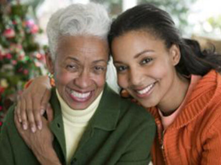 Social Security African American Mother And Daughter