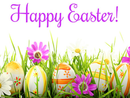 Happy Easter Hours Image