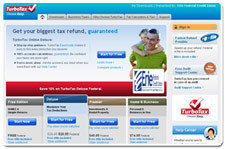 Turbo Tax Screen Shot Image
